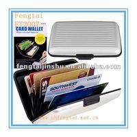 aluminium credit card case/holder