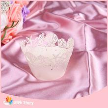 Nuevo bebé decoración Cup Cake Party Favors para carnaval