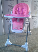 New plastic high chair for baby