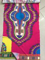 China Factory fabric Wholesale Latest dashiki print fabric