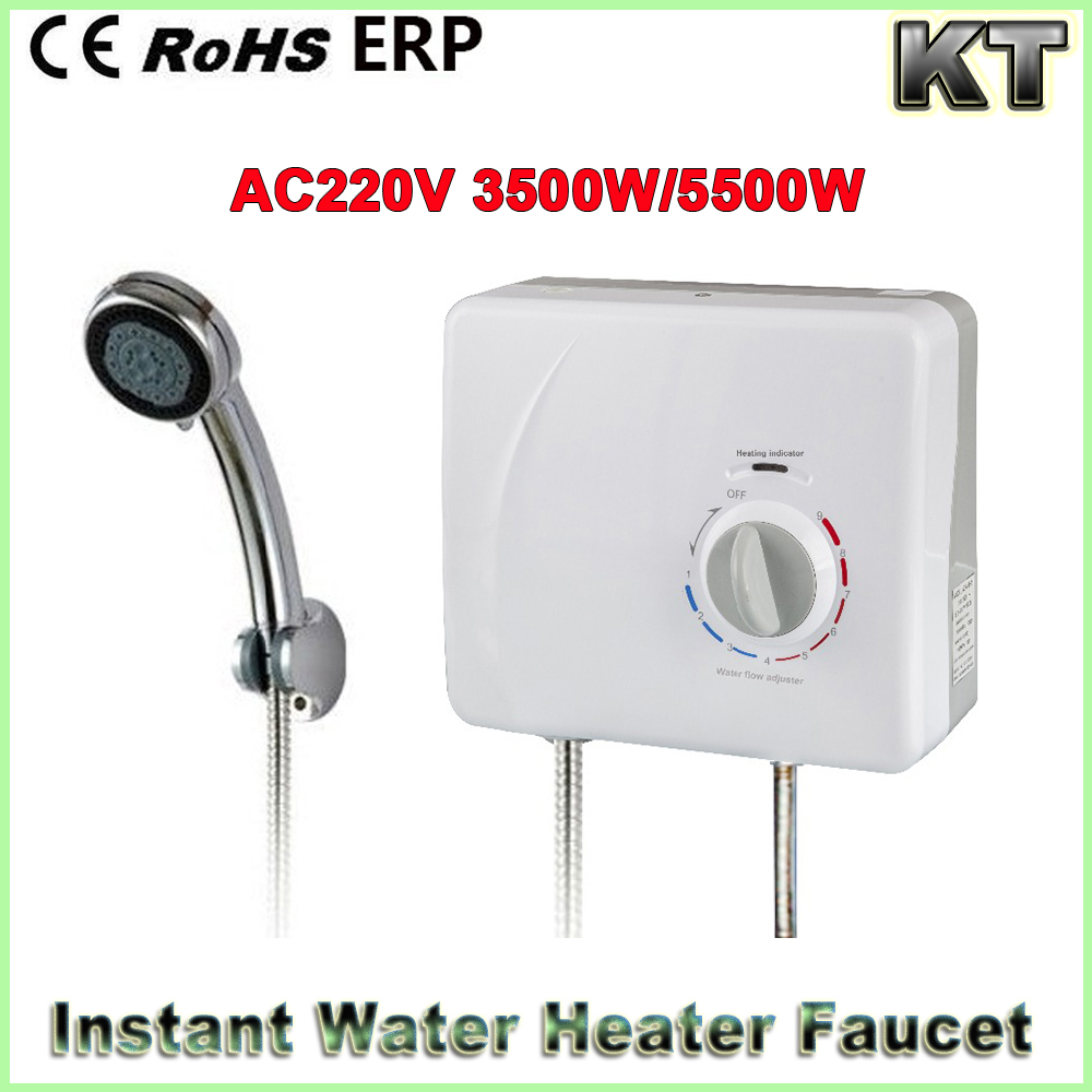 ELectric instant water heater shower1