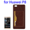2015 new stand plastic back cover for huawei p8 phone case