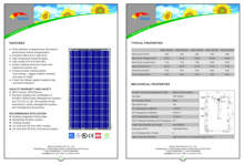 High efficient and reliable 250W grid tied Solar Module, Micro Inverter with power line communication for PV system
