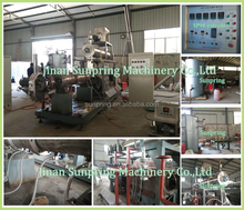full automatic floating fish feed making machine and fish feed processing line /carp/dogfish