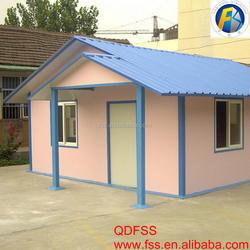 Fast Installation House Prefab Indonesia Prefabricated House in Haiti