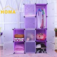 Outdoor furniture Plastic YIWU wardrobe walmart HMY3-4