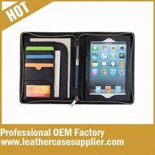 High quality OEM pu A4 for ipad padfolio