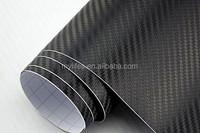 3D carbon fiber film/carbon fibre vinyl wrap/carbon fiber vinyl wrap Type and PVC Material carbon fiber vinyl car wrap