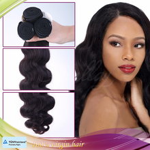 2015 new products body wave virgin hair extenion brazilian human remy hair