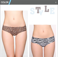 New Fashion Design Leopard and Zebra printed sexy woman in panty images