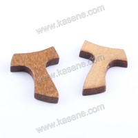 T-Shaped Wood Cross Patterns