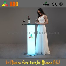 led round table sale,foldable high top cocktail tables,led glass bar table