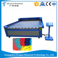 Top sale computer fabric cutting machine 80w laser cutter LZ-1325/ CO2 fabric laser cutting and engraving machine