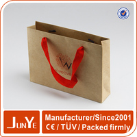 shopping promotion printed brown paper bags for retail shops