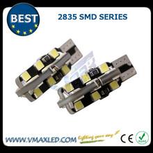 Auto parts T10/W5W 2835 smd with low price buy car bulbs