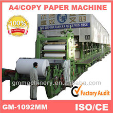 2014 hot selling products made in China1800mm high production A4 paper making machine