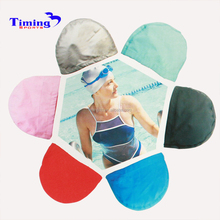 good price fashionable waterproof silicone swimming cap, latex swim cap