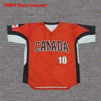 Fashion custom design digital camo baseball jerseys