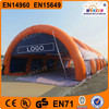 2015 China supplier inflatable exhibition tent inflatable tennis tent for sale
