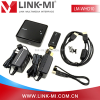 New Product LM-WHD10 10m Portable Design WHDI Stick Wireless HDMI Transmitter and Reciever