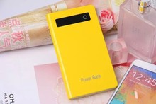 Super slim portable power bank charger with 4000mah beautiful style