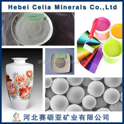 Hebei Celia cenosphere for ceramics and paints