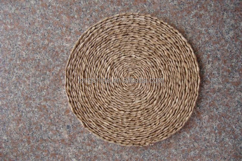 Cheap Wholesale Coffee Table Placemats Decorative Woven Straw Mat For Tableware Buy Coffee
