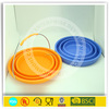 Heat insulation collapsible travelling silicone bucket