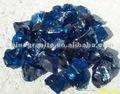 الزجاج الأزرق الكوبالت rocks2-5cm، 5-12cm، 5-15cm، 10-30cm