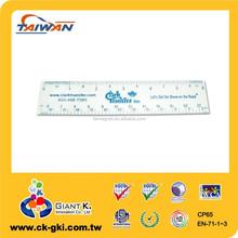 marchio promozionale righello di plastica produttore righello 13 centimetri