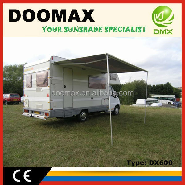 #DX600 Retractable 4wd Fox/Batwing Awning