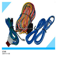 china factory alarm system auto wire harness