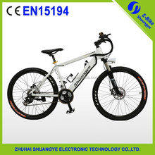 "2015 newest 36V 26"" hidden battery alloy mountain electric bike"