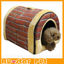 Good Quality Classical Design Brick Pattern Pet Cat Cage Dogs Beds Dog Kennel for Sale