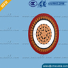 Low voltage pvc insulated power cable 4x4mm2
