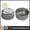 Disposable heat insulated aluminum tealight container