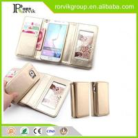 alibaba china slim armor cell phone case wallet phone for Samsung Galaxy S6