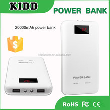 Best quality USB battery 20000mAh for all mobile phones powerbank