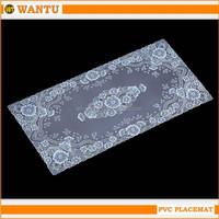 2015 modern design Fucun Shentangwu plastic placemat