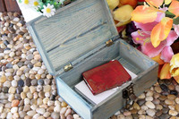 new sell letter wooden storage box