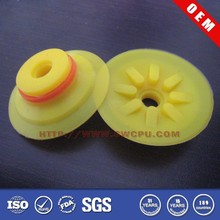 Custom made colored food grade silicone vacuum suction cup