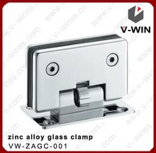 Barato puerta de la ducha de vidrio& abrazadera de cristal de la puerta de hardware de china