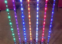 2015 New flash multi colors white,green,yellow,red,blue led 4~6feets atv utv offroad led flag