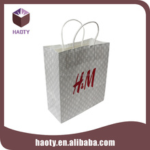 paper bag with embossing logo paper gift bags for christmas day