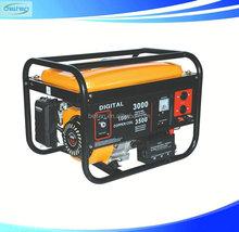 China Petrol Generator 12V DC Portable Petrol Generator 5KW DC Generator