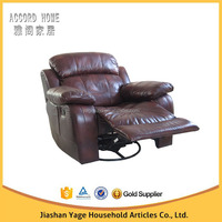 hot new designs cheap genuine leather recliner sectional sofa made in china