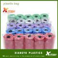 Venta al por mayor hdpe / ldpe plástico de color bolsas de basura bolsas de basura