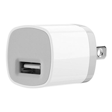 5V 1A 2-Tone USB AC Home Wall Travel Charger Adapter