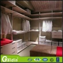 Profesional de la fabricación un aparador y silla y la cama y el armario y cama y mesa de noche para muebles juego de dormitorio