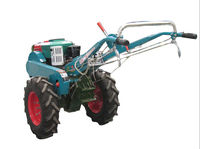 hot sell 20hp farm walking tractor with kinds of farm implements